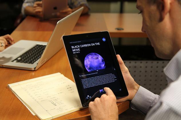 Apps de empresa para iPad