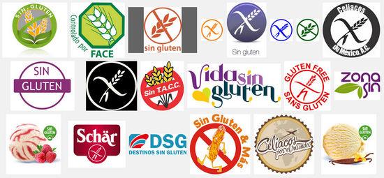 Resultado de imagen de productos sin gluten