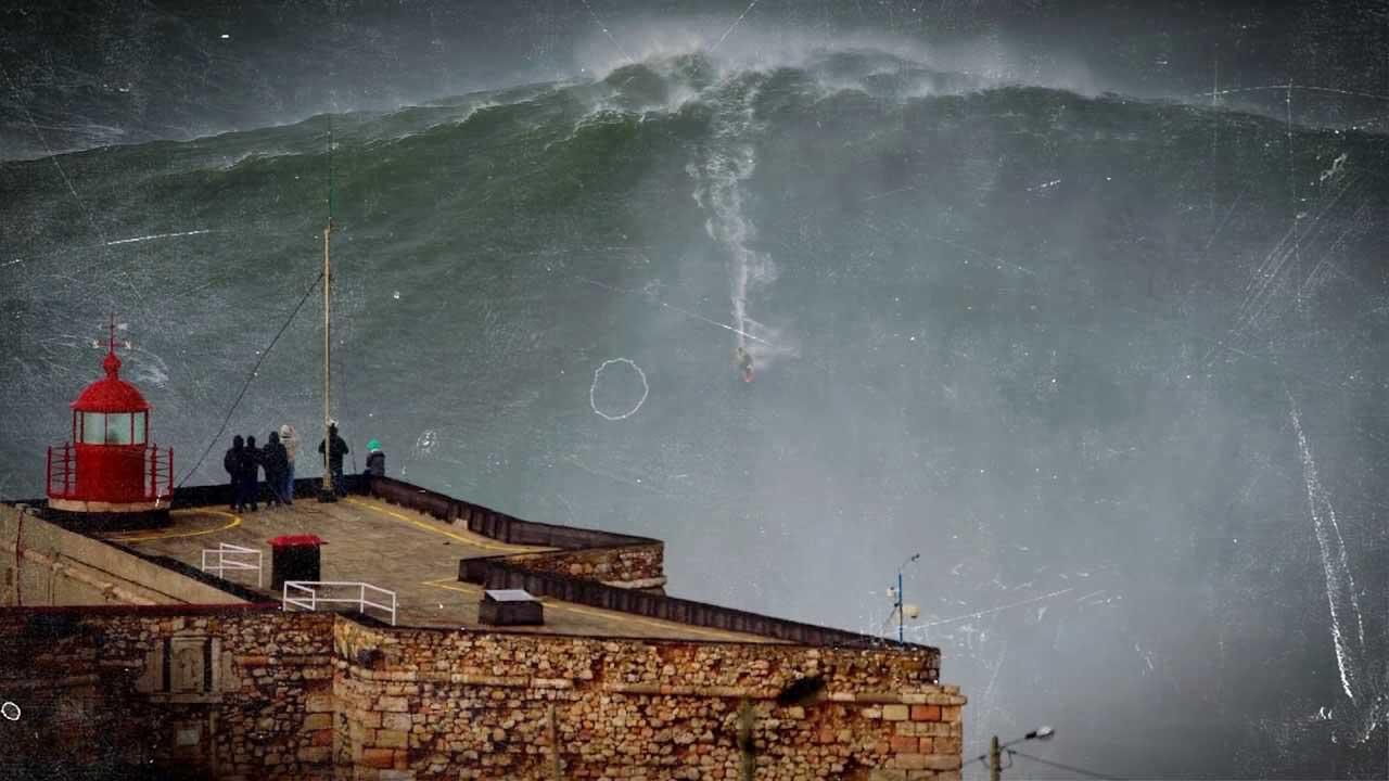 Nazaré: La fabrica de olas gigantes de Portugal
