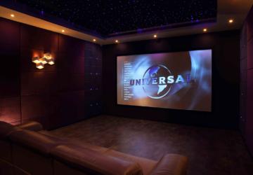 Transforma el salón de tu casa en una sala de cine exclusiva