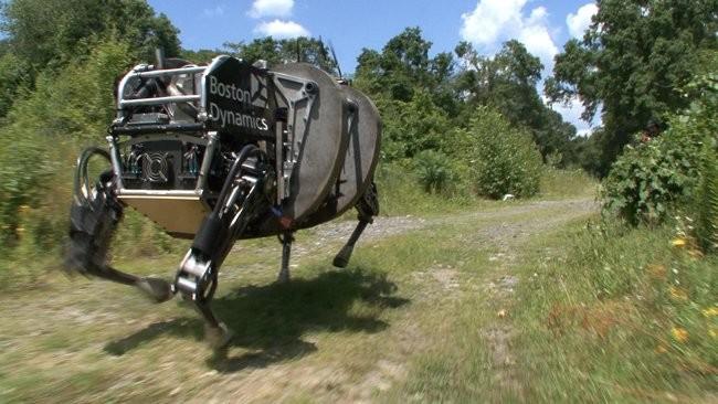LS3-BostonDynamics robot