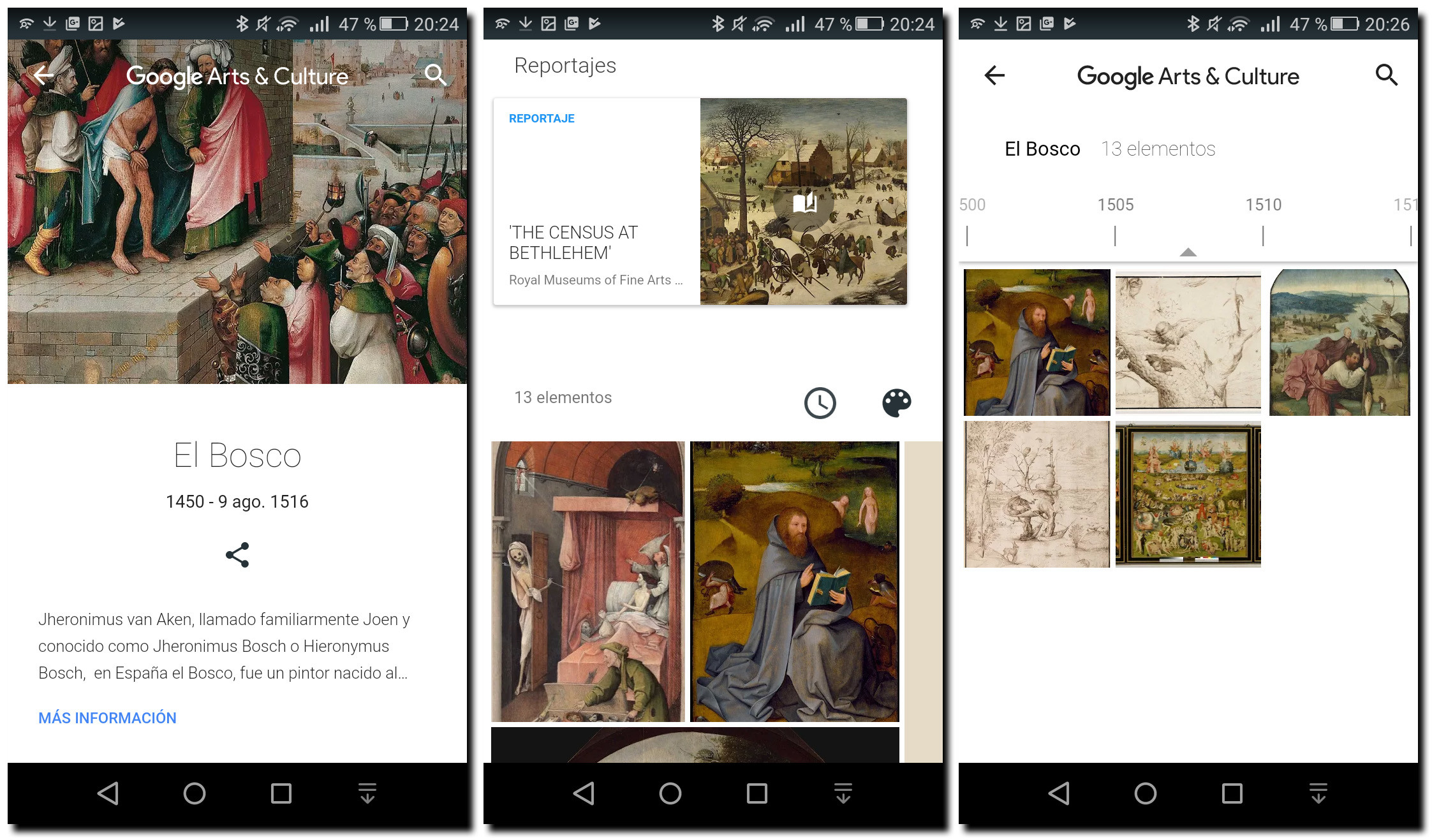El Bosco Google Arts & Culture