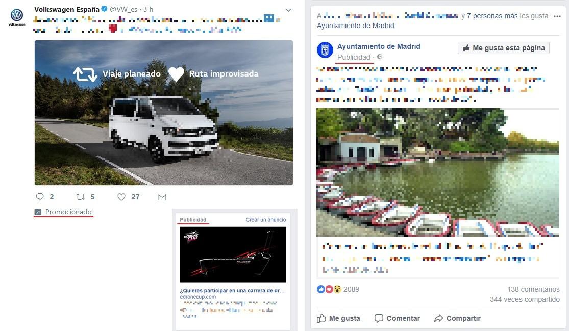 anuncios paginas web alfabetización digital