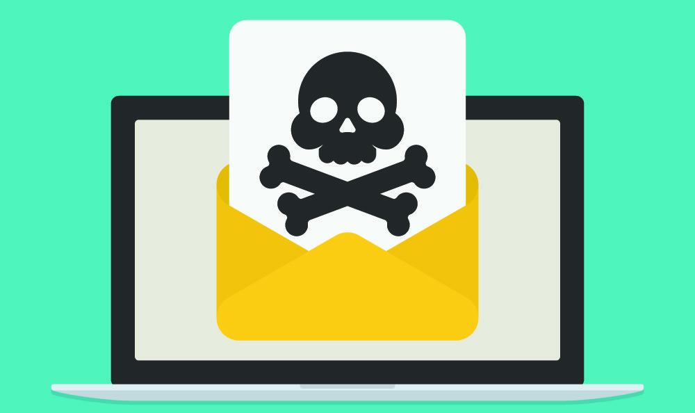 Correos electrónicos de dudosa procedencia o con enlaces en su interior