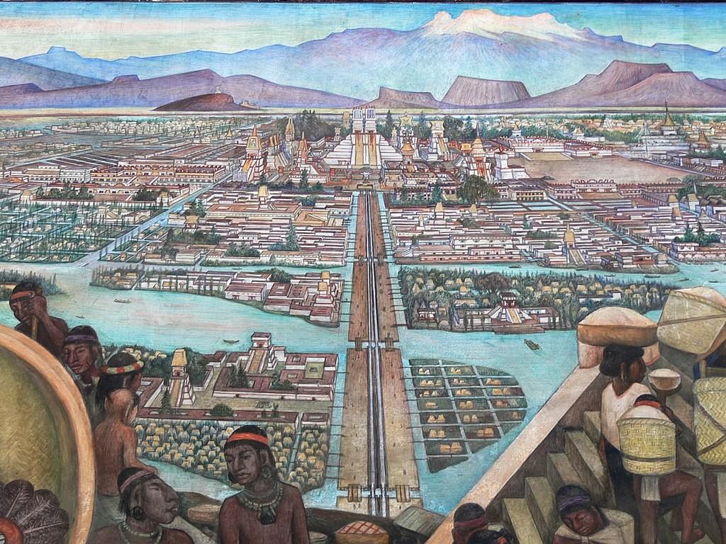 Tenochtitlan hidroponico