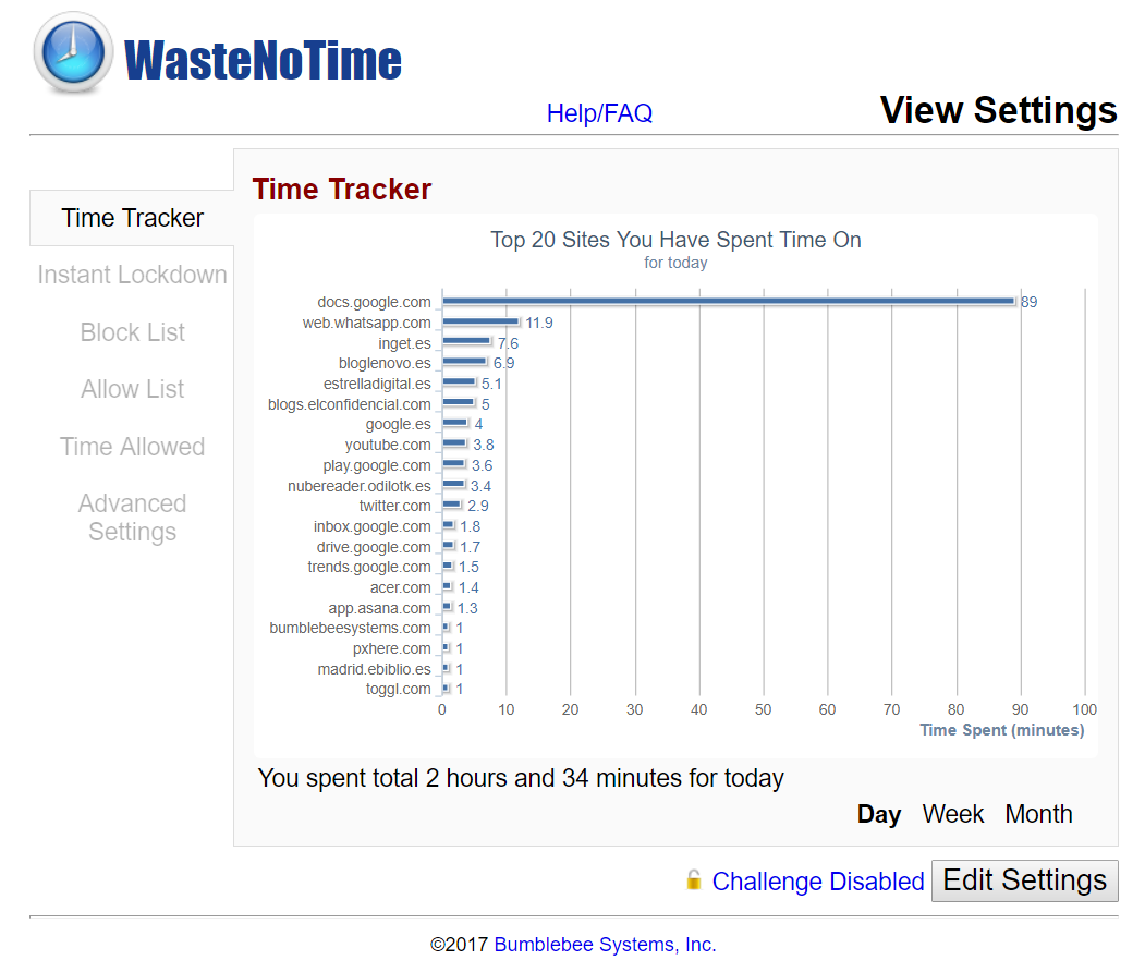 waste-no-time-tracker
