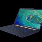 Pantalla infinita y máxima portabilidad en el Acer Swift 5