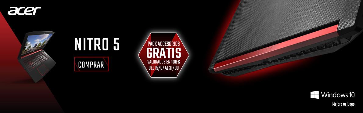 Gratis Pack Accesorios Gaming