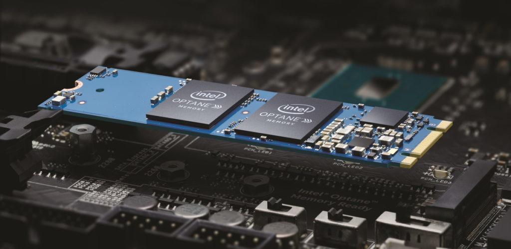 Intel Optane almacenamiento Acer