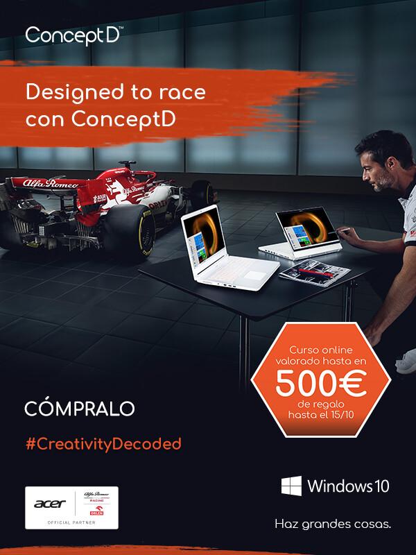 ConceptD - Courses Prize Promo