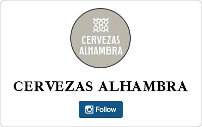 Cervezas Alhambra en Instagram