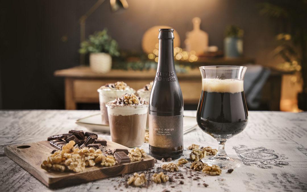 ¿Cerveza con el postre en estas fiestas? Alhambra Baltic Porter es la combinación perfecta