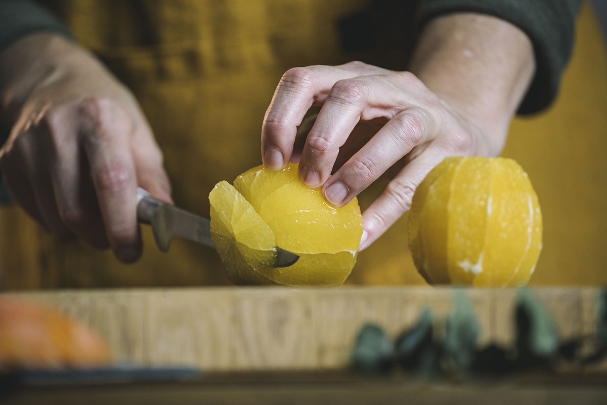 Remojón de naranja y ahumados