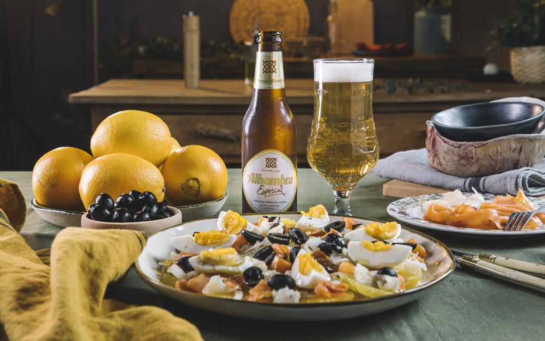 Receta de remojón de naranja con ahumados, un clásico de Granada renovado para conquistar a todos