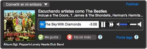 Los Beatles en Rockola.fm