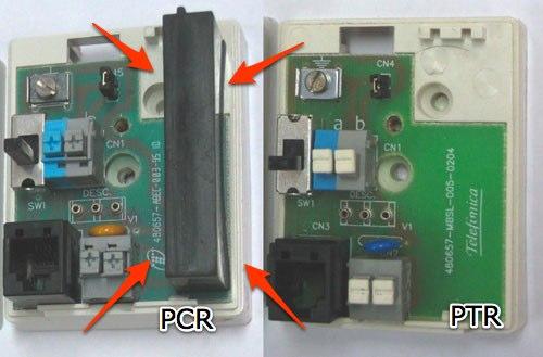 Un PCR y un PTR por dentro