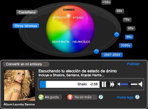Colores en Rockola.fm