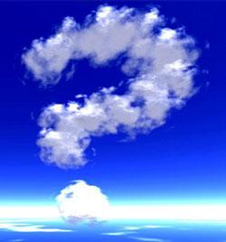 Es es UNA nube, pero no LA nube