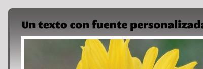 Font-face
