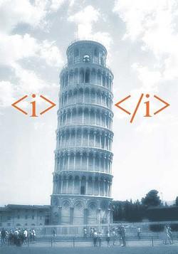 HTML5 en la Torre de Pisa