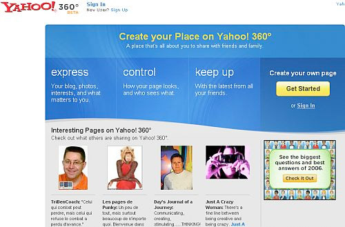 Yahoo 360