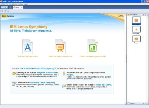 lotus symphony_inicio