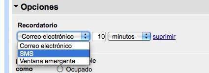 Configurar Google Calendar