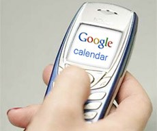 Google Calendar móvil