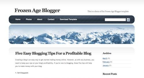 Frozen Blogger