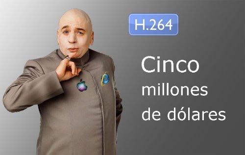 Cinco millones de dólares