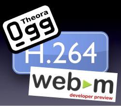 Video HTML5 Codecs