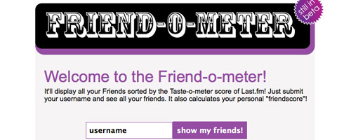 Friend o Meter