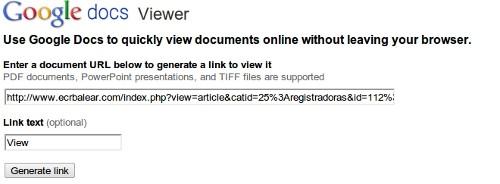Google Docs Viewer, la mejor opción para compartir archivos