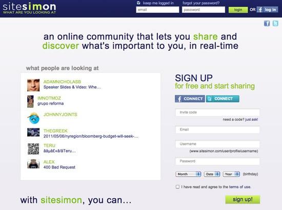 Sitesimon