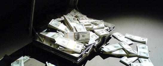 Maletín dinero
