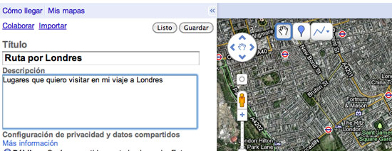Maps Londres