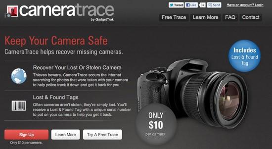CameraTrace