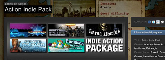 Indie pack games