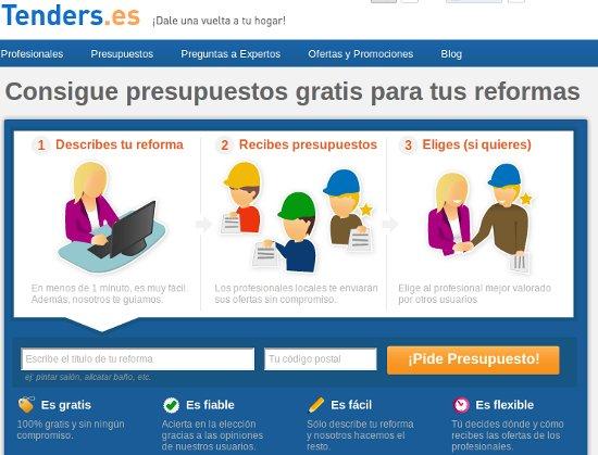 Cuatro servicios para conseguir presupuestos online para - Presupuestos para reformas ...