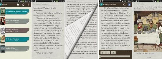 Fabrik, un lector de libros sincronizado con Dropbox