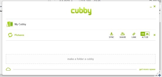 Cliente Windows Cubby
