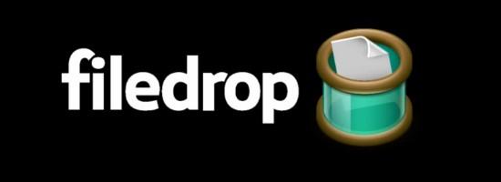 filedrop, la opción más sencilla para intercambiar archivos a través de la red