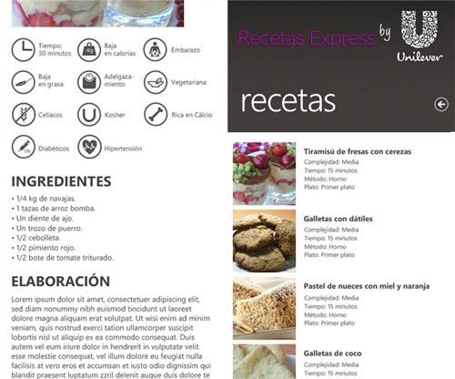 recetas expres