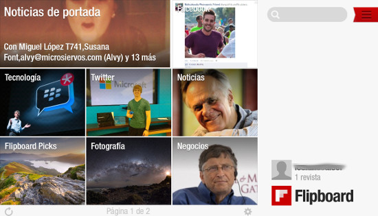 Flipboard, la revista perfecta para los tablets