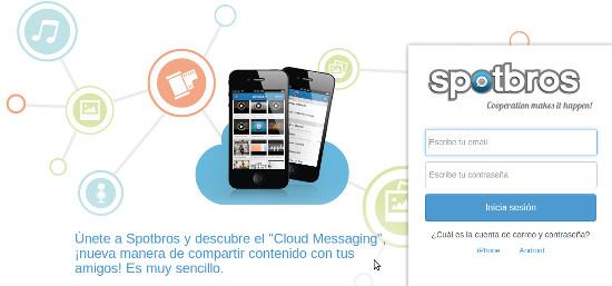 Spotbros, un terabyte para los archivos que nos pasamos por mensajería instantánea