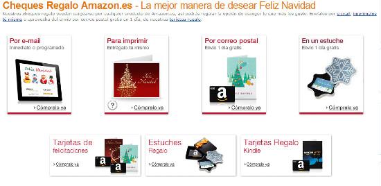amazon regalos