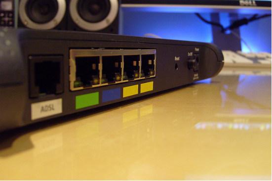 Puertos del router
