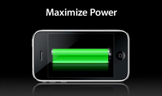 Smartphone-Battery-Power
