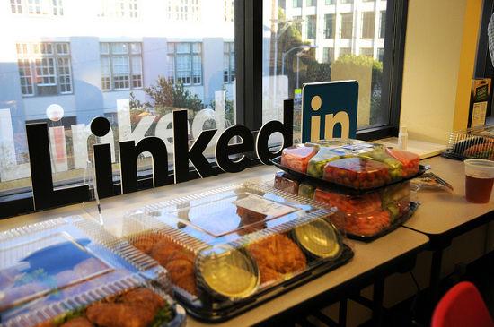 linkedin comida y networking