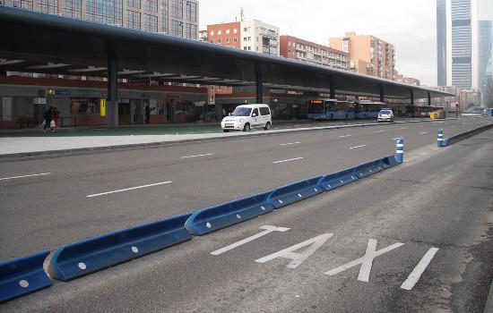 Carril taxi